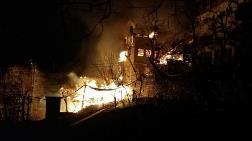 Artvin'de Bir Köy Yangını Daha