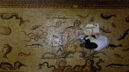 Dünyaca Ünlü Mozaikler Hassas Korumayla Gelecek Nesillere Aktarılıyor