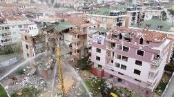 Büyükçekmece'de Kentsel Dönüşüm Kapsamında 3 Bina Yıkılıyor