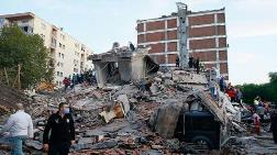 İzmir Depreminde Hasar Gören Evlerin Acilen Terk Edilmesi İstendi