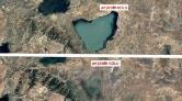 Gölleri Vuran Kuraklık, Uydu Fotoğraflarında