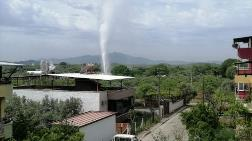 Jeotermal Borusu Patladı, 'Dışarı Çıkmayın' Uyarısı Yapıldı