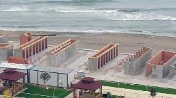 Tepki Çeken Beton Plajla İlgili Açıklama