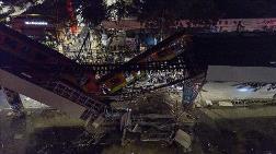 Meksika'da Metro Üst Geçidi Çöktü
