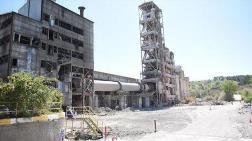 64 Yıllık Çimento Fabrikasının Yıkımına Başlandı