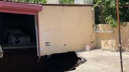 Ümraniye'de Garajda Çökme