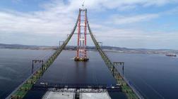 Çanakkale Köprüsü Tabliye Bloklarının Montajında Kullanılacak Yüzer Vinç Geldi