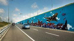Filli Boya'nın Desteğiyle İstanbul Havalimanı'nda Grafiti Çalışması Yapıldı