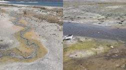 Salda Gölü'ne Kanalizasyon Karışıyor