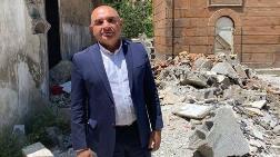 Tarihi Cami Harabeye Döndü