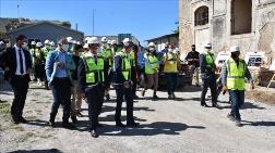 Sinop Cezaevi'ndeki Restorasyon Devam Ediyor