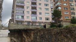 Otoparkında Göçük Oluşan Binanın İstinat Duvarı Yeniden Yapılacak