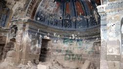 Kayseri'de Defineciler Tarihi Kiliseyi Tahrip Etti