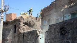 Diyarbakır'da Metruk Yapılar Yıkılıyor