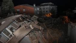 Sarıyer'de 11 Katlı Boş Bina Çöktü