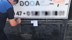 Bodrum'da 27 Şantiye Mühürlendi