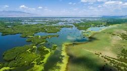 Eber Gölü'nün Derinliği 1 Metreye Düştü