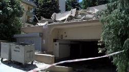 Sarıyer'de Yıkılan Binadan Zarar Görenler Tepkili