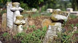 Osmanlı Mezarlığı'nın Taşları Dolgu için Kullanılmış