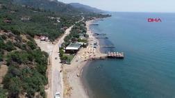 Assos'taki Kaçak Plaj Tesisi için Yıkım Kararı