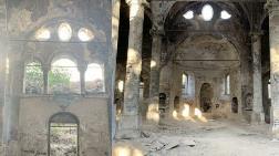 Tarihi Kilise Bakımsızlıktan Yıkılmak Üzere