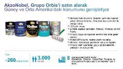Akzonobel, Grupo Orbis'i Satın Alıyor