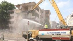 Büyükçekmece'de Deprem Riski Taşıyan 5 Bina Yıkıldı
