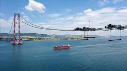 Çanakkale Köprüsü'nde Askı Halatlarının Montajına Başlandı