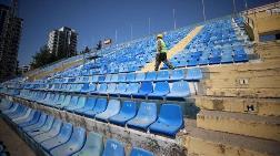 5 Ocak Fatih Terim Stadı'nın Yıkımı Başladı