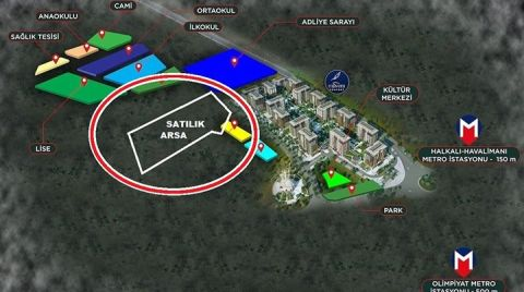 Başakşehir Belediyesi, 'Yeşil Alan' Gösterdiği Araziyi Satışa Çıkardı