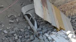 Gaziantep'te Yeni Yapılan Bina Çöktü