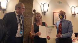 Prof. Derya Oktay'a WREN Pioneer Ödülü