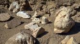 Aydın'daki Kazılarda Hadrianus Heykelinin Parçaları Bulundu