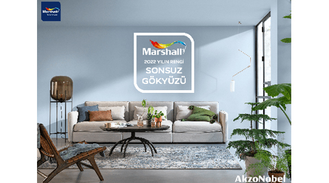 """Marshall 2022 Yılın Rengi; """"Sonsuz Gökyüzü'"""
