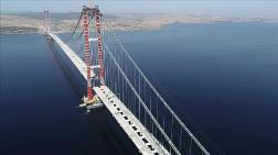 Çanakkale Köprüsü'nün Tabliye Montajları Tamamlanıyor