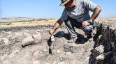 Domuztepe Höyüğü'nde Orta Çağ Dönemi'ne Ait Çocuk İskeleti Bulundu