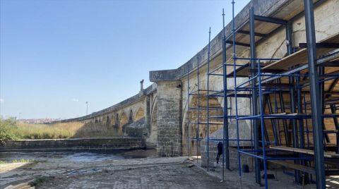 Tarihi Uzunköprü, Restorasyon Çalışmaları Nedeniyle Trafiğe Kapatıldı