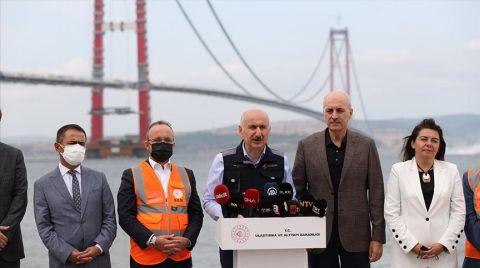 """""""Çanakkale Köprüsü Büyük Oranda Tamamlandı"""""""