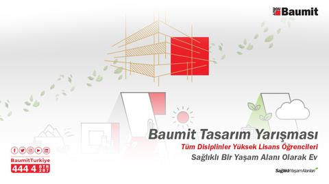 """Baumit'in """"Sağlıklı Bir Yaşam Alanı Olarak Ev"""" Tasarım Yarışması Sonuçlandı"""