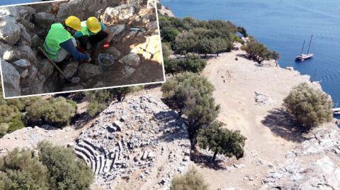 Marmaris'te MÖ. 6'ncı Yüzyıla Dayanan Tarih Gün Yüzüne Çıkıyor