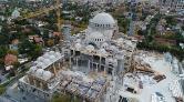 Barbaros Hayrettin Paşa Camii'nin Kaba İnşaatı Tamamlanıyor