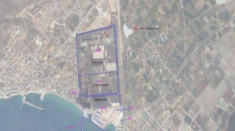 Taşucu Limanı'nın Arkasındaki Arazi de Satılacak