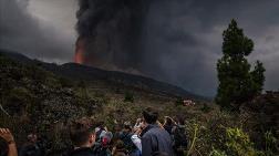 Kanarya Adaları'nda Faaliyete Geçen Yanardağdaki Patlamalar Sürüyor
