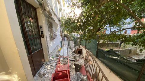 Kadıköy'de 2 Balkon Çöktü