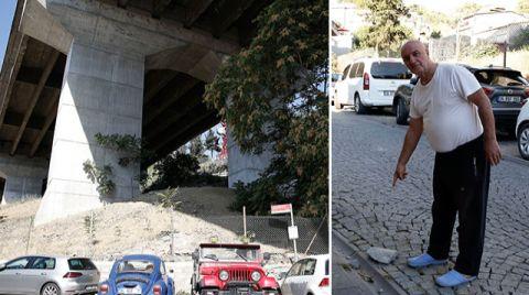 Ortaköy Viyadüğü'nden Düşen Parçalar Tehlike Saçıyor