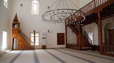 523 Yıllık Caminin Restorasyonu Tamamlandı