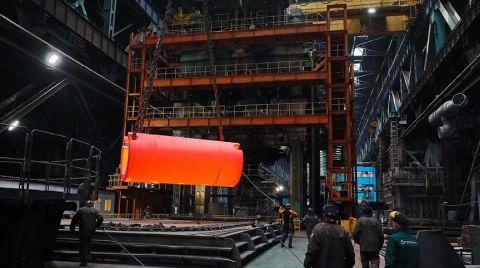 Akkuyu NGS'nin 3'üncü Ünitesine Ait Reaktör Tabanının Ham Parçası Yapıldı