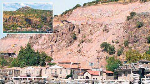 Assos'ta Islah Çalışmasına Tepki Büyüyor