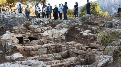 Amos Antik Kenti Turizme Kazandırılacak