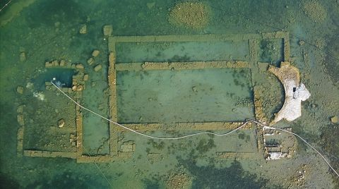 İznik Gölü'ndeki Bazilika 13. Yüzyılda Terk Edilmiş